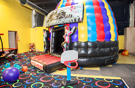 Bouncy house at Party Playground Indoor Fun Center