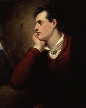 Lord George Gordon Byron namesake of Byron Georgia